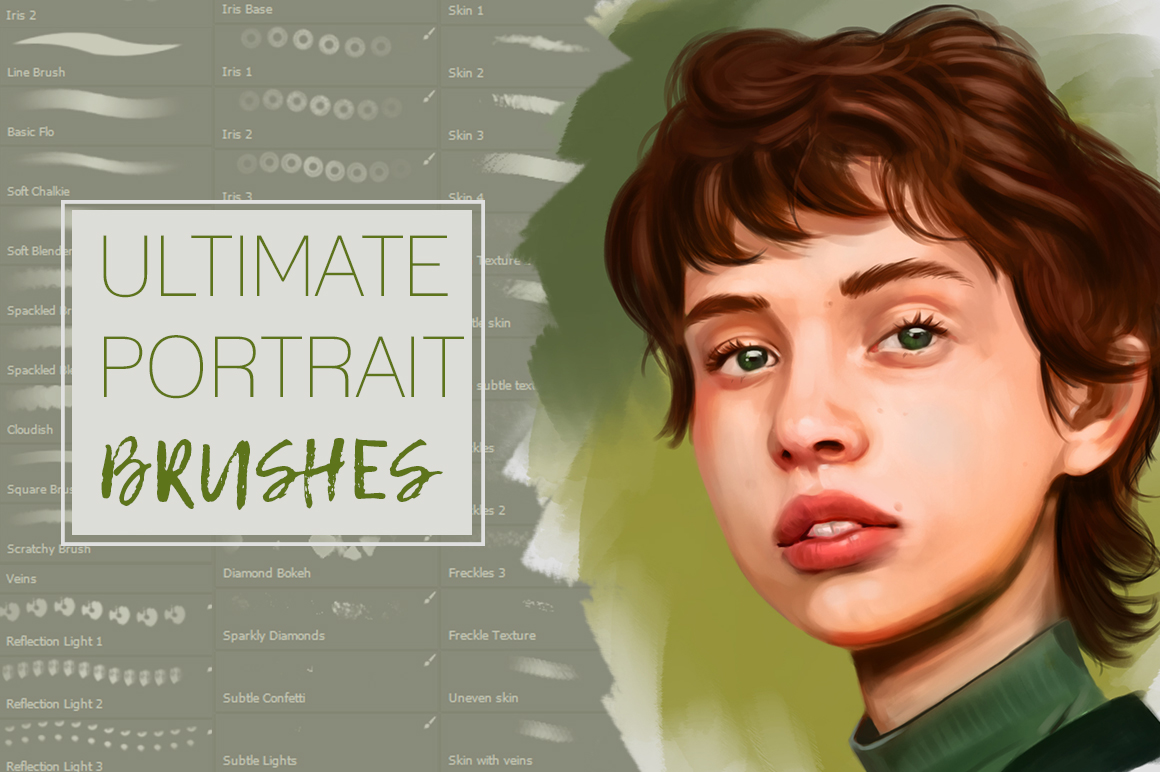 Ultimate Brush Set for Painting Portraits