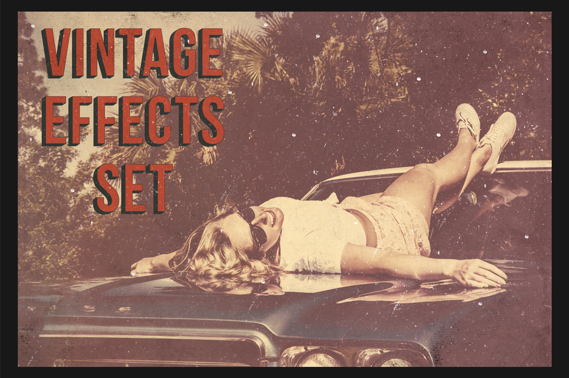18 Vintage Effects for Photoshop