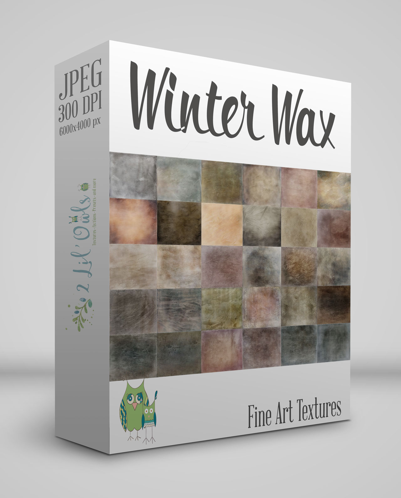 Winter Wax Fine Art Textures