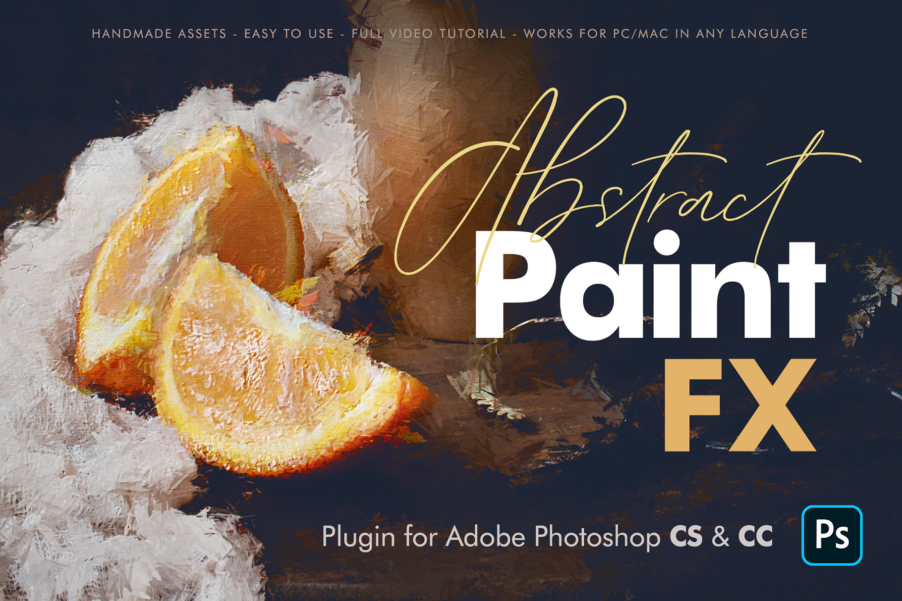 Abstract Paint FX - Photoshop Plugin