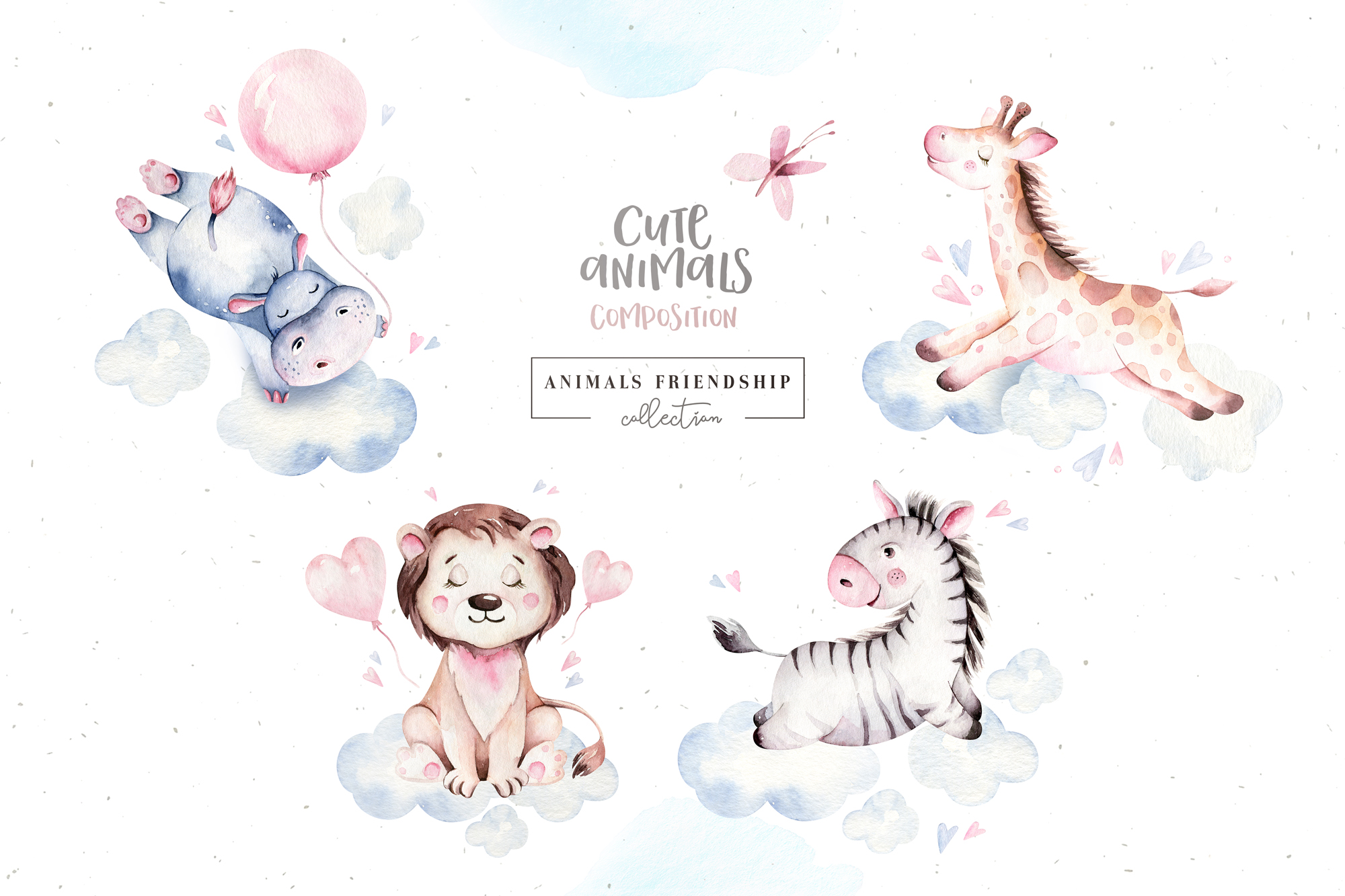 Animals Friendship - Baby Collection