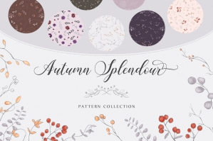 Autumn Splendour - Gentle Pattern Collection
