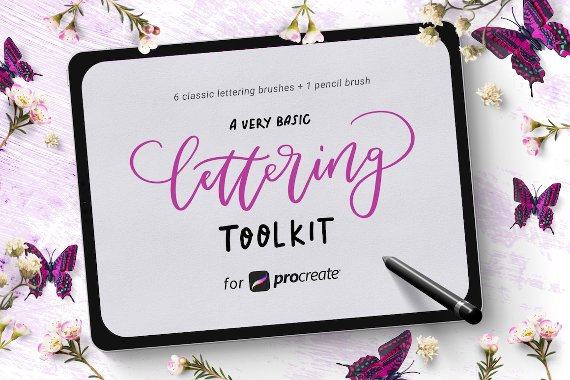 Basic Lettering Toolkit for Procreate