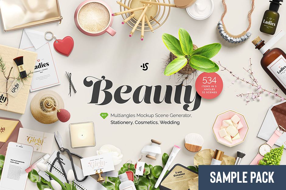 Beauty, Stationery, Wedding & Cosmetics Sample
