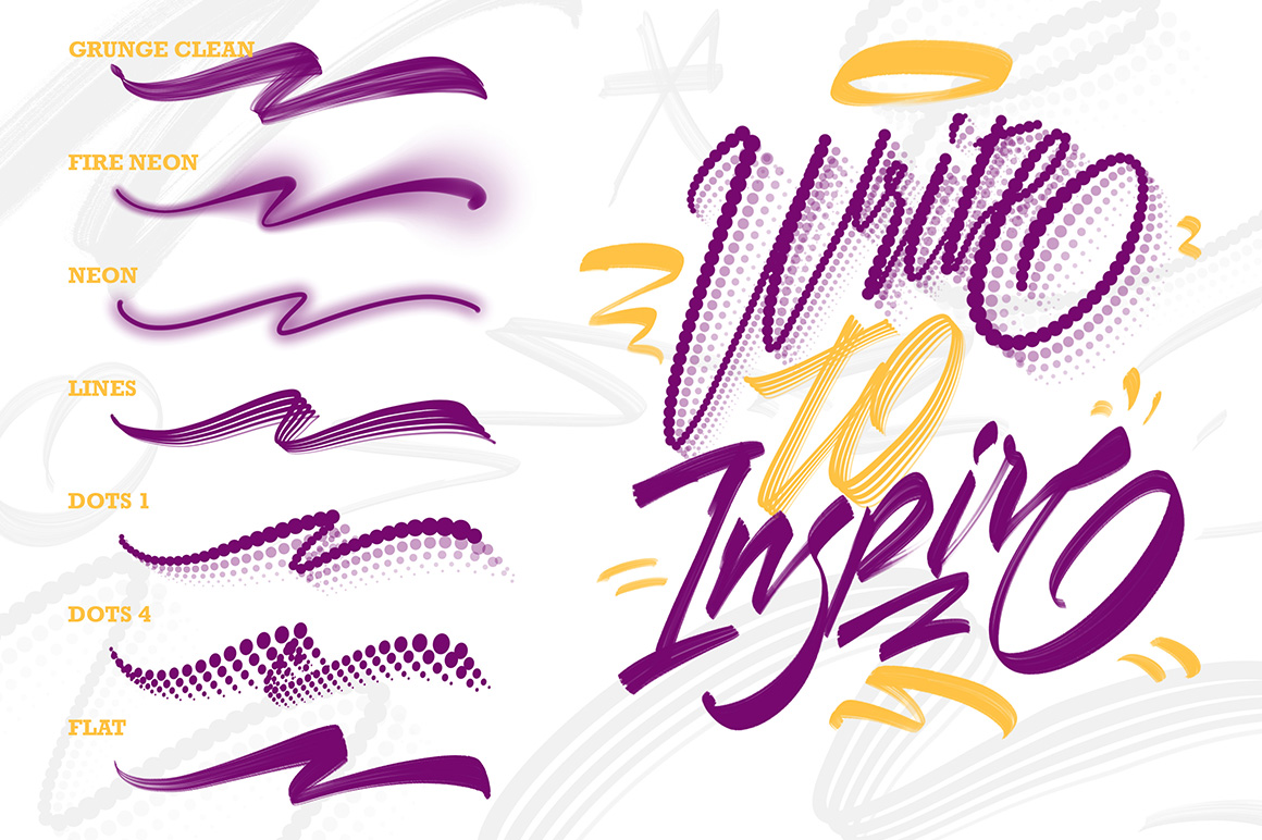 Creative Lettering Brush Pack