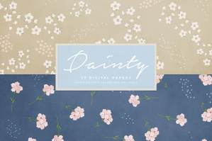 Dainty Digital Papers