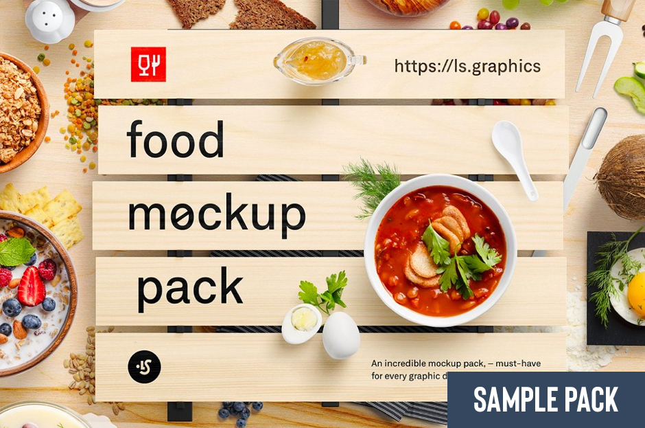 Packaging Mockup Collection Sample
