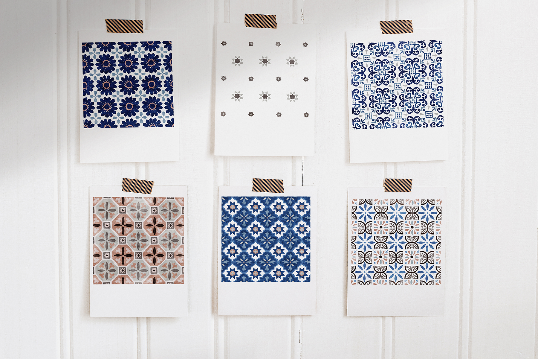 Morocco & Azulejos Patterns