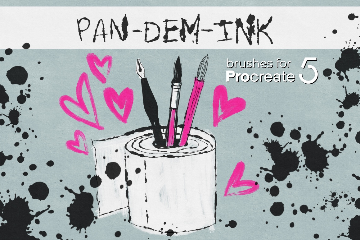 PAN-DEM-INK for Procreate