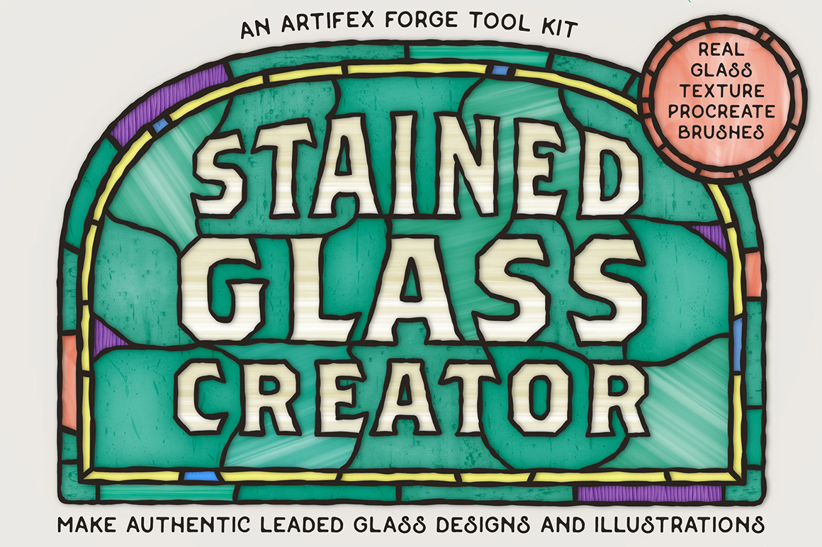 Stained Glass Creator - Procreate