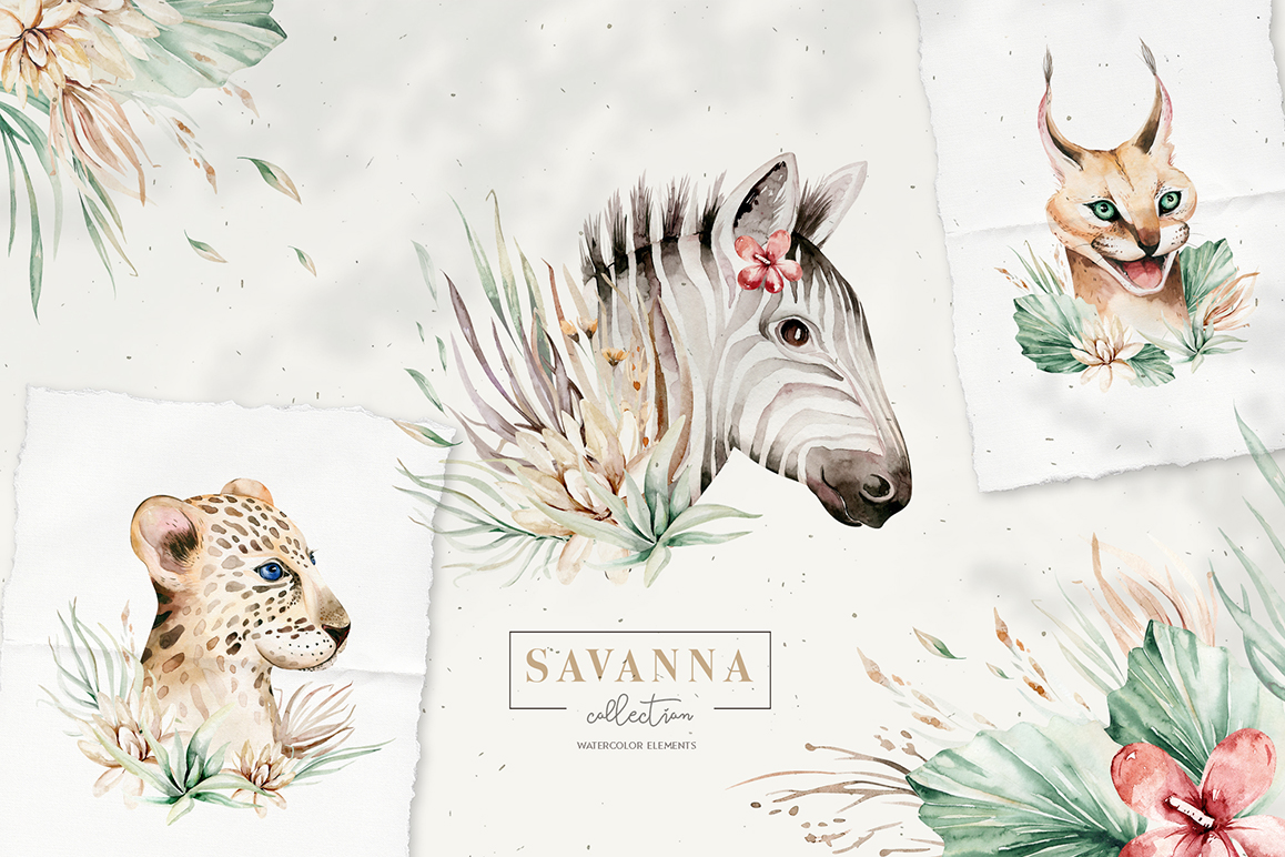 Stay Wild - Savanna Animal Collection