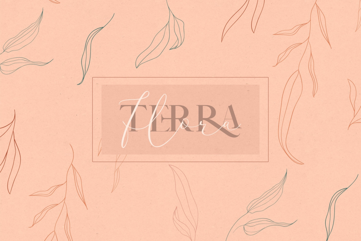 Terra Flora Abstract Collection