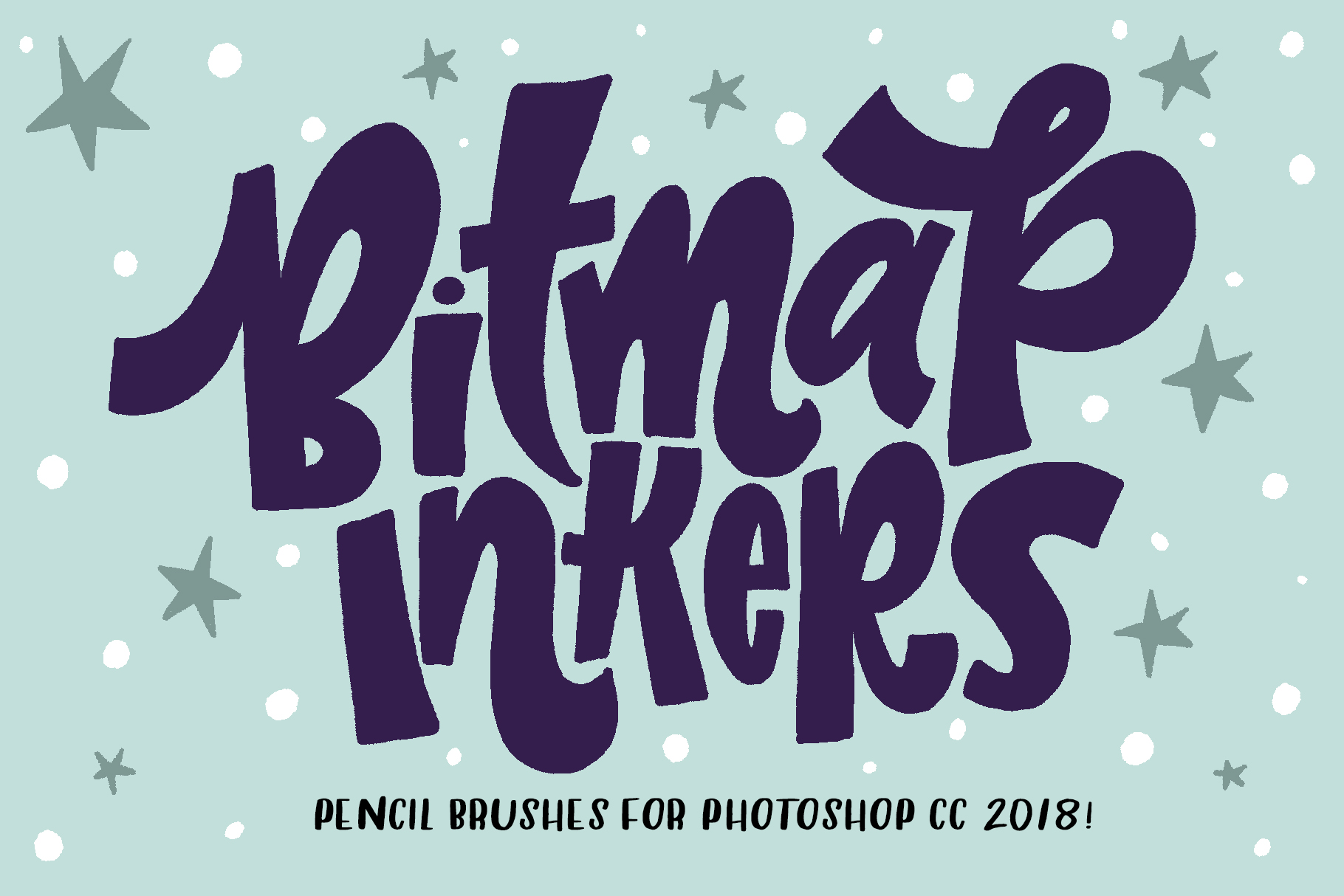 Bitmap Inkers for Photoshop CC 2018