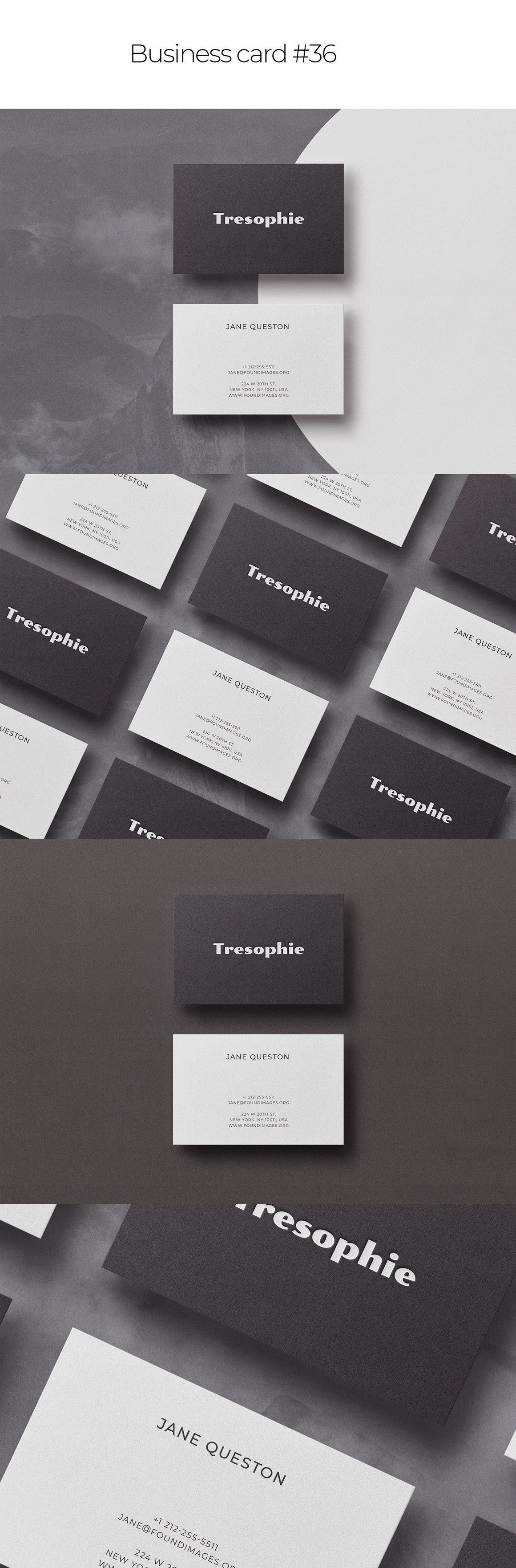 Business Card Bundle Template Mockup Vol.2
