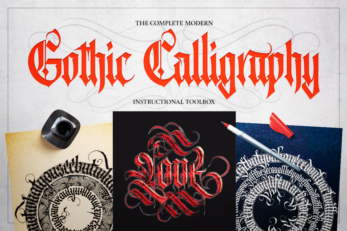 Complete Modern Gothic Calligraphy Toolbox