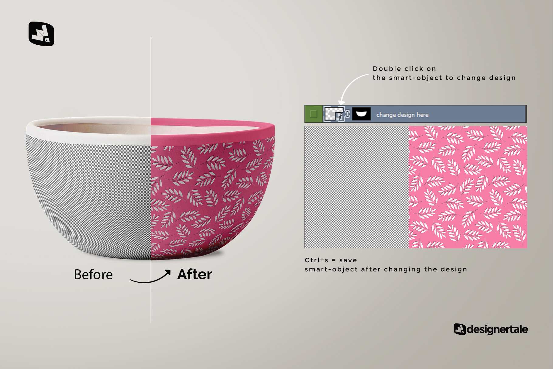 Front View Bowl Mockup Vol.1