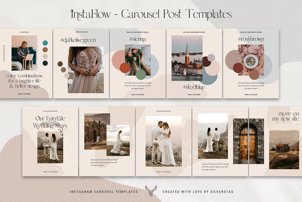 InstaFlow Carousel Posts & Stories