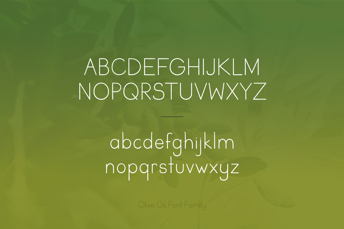 Olive Oil - Essential Sans Serif Family