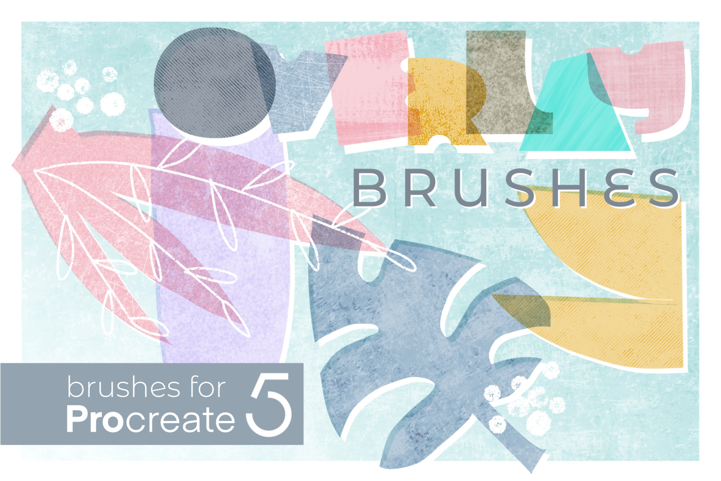 Overlay Brushes for Procreate