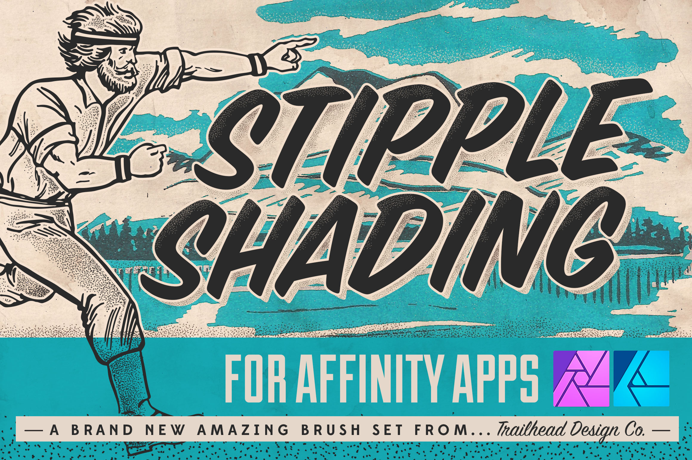 30 Affinity Designer Brushes for Your Collection