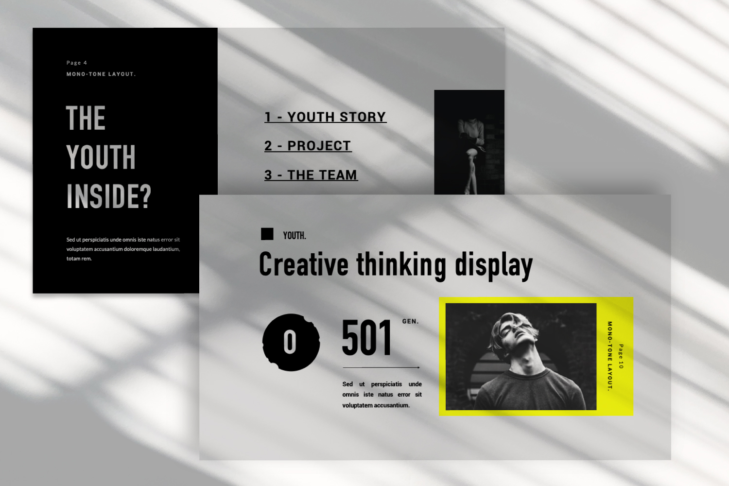 Youth Urban Presentation Template