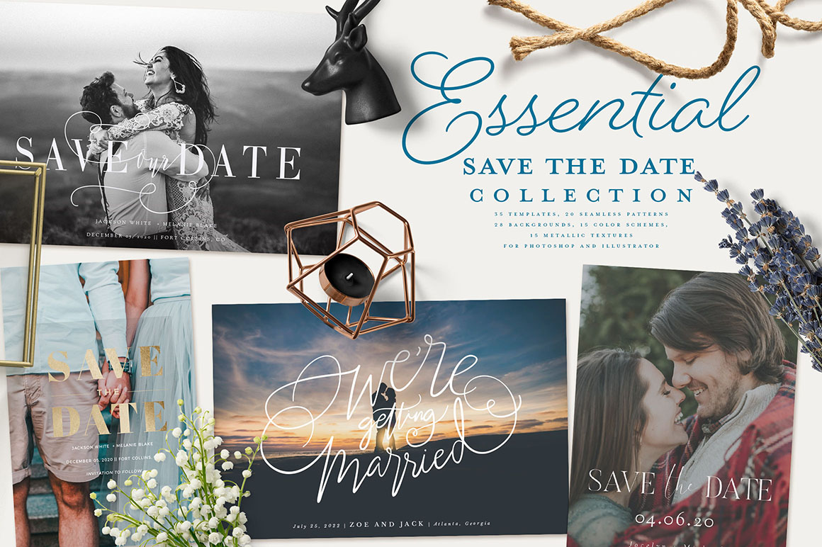 Essential Save the Date Collections