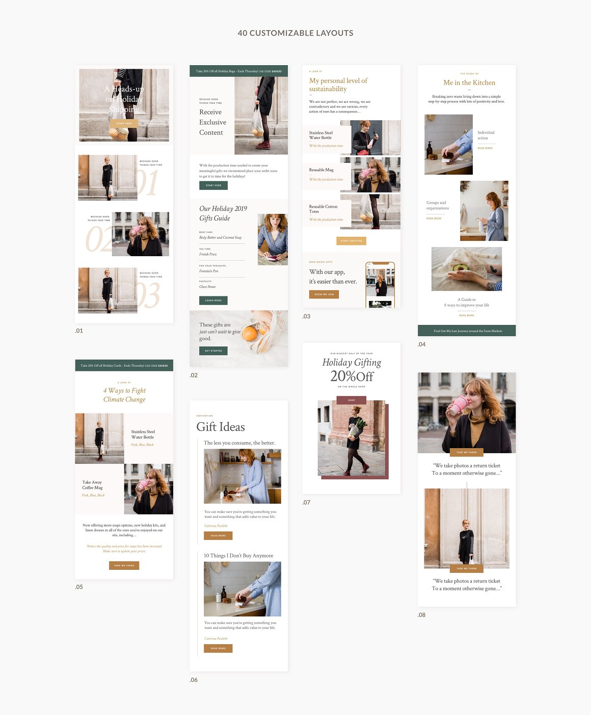 Kate - Newsletter Templates