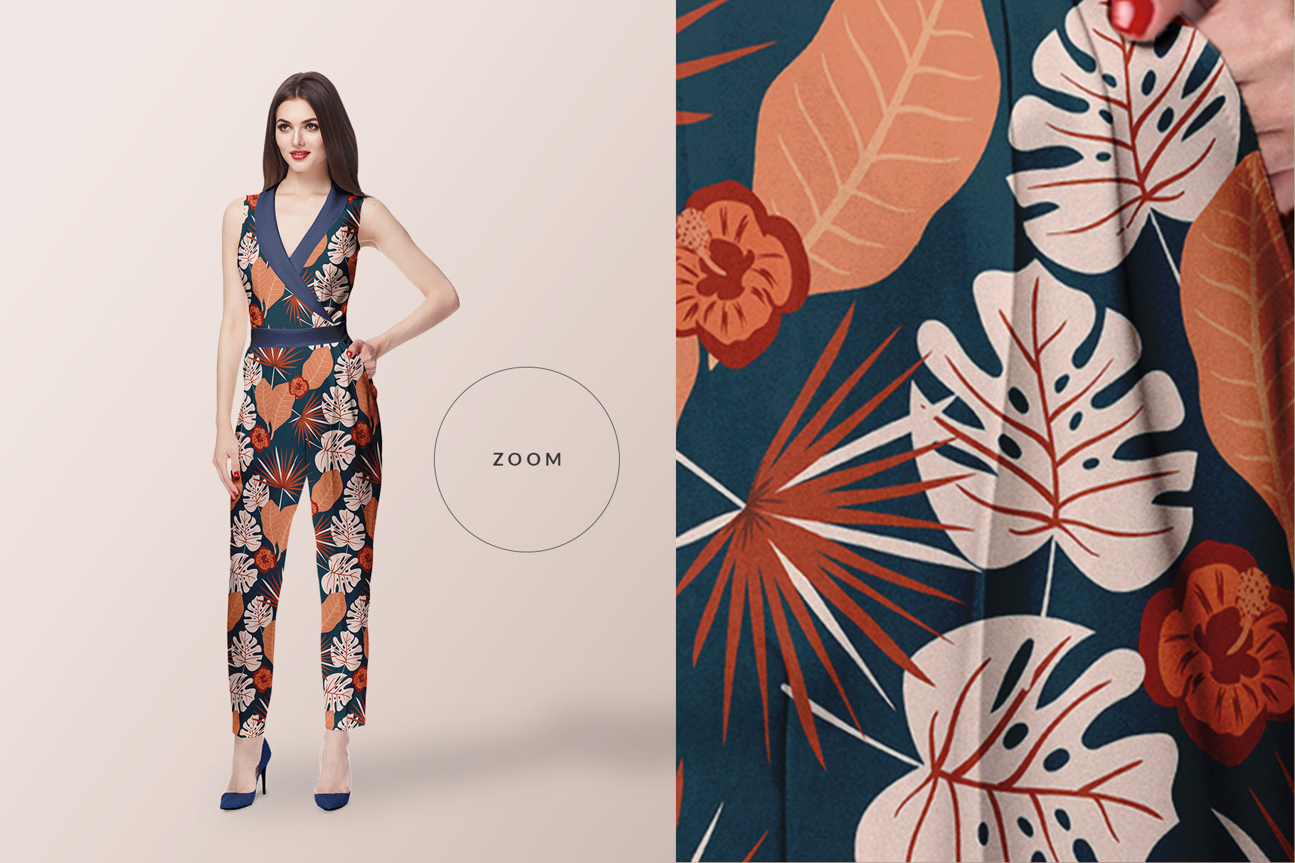 Ladies Fashion Apparel Mockup Collection