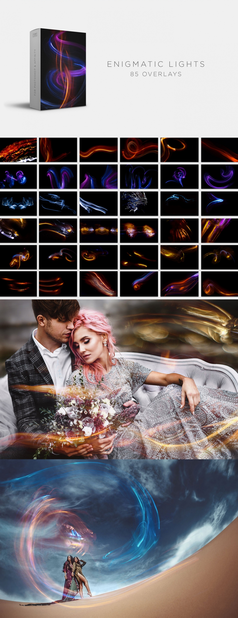 Lights Bundle - 525 Overlays