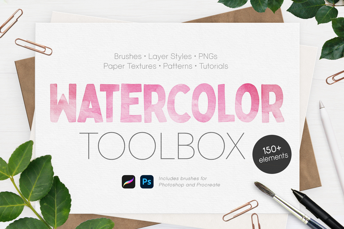 The Ultimate Watercolor Toolbox