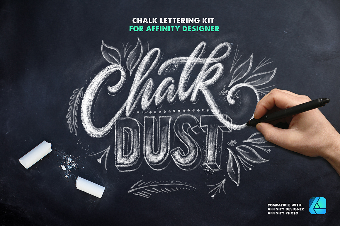 12 Best Affinity Designer Lettering Brushes
