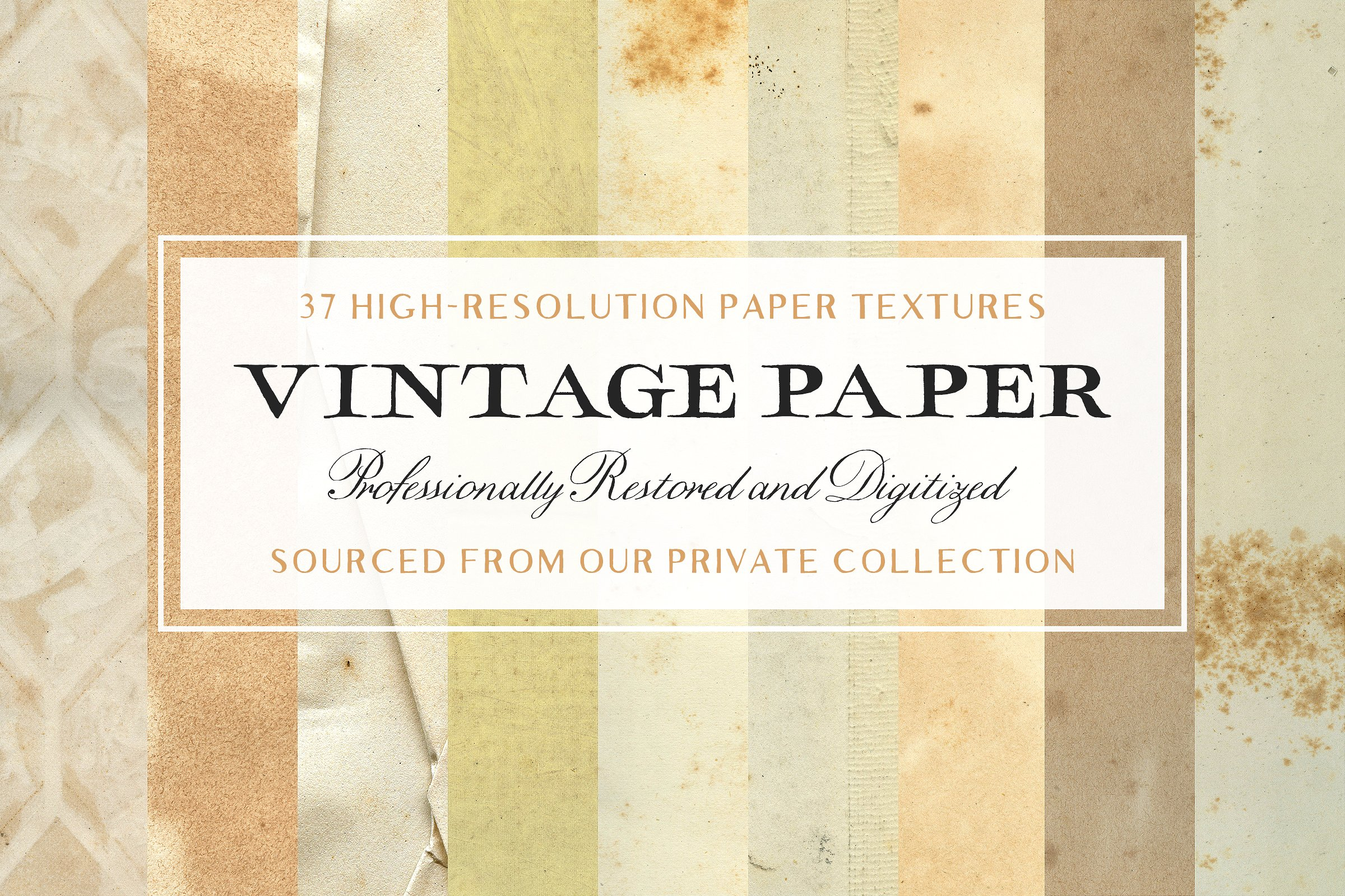 17 Old Paper Textures for Timeless Design Projects