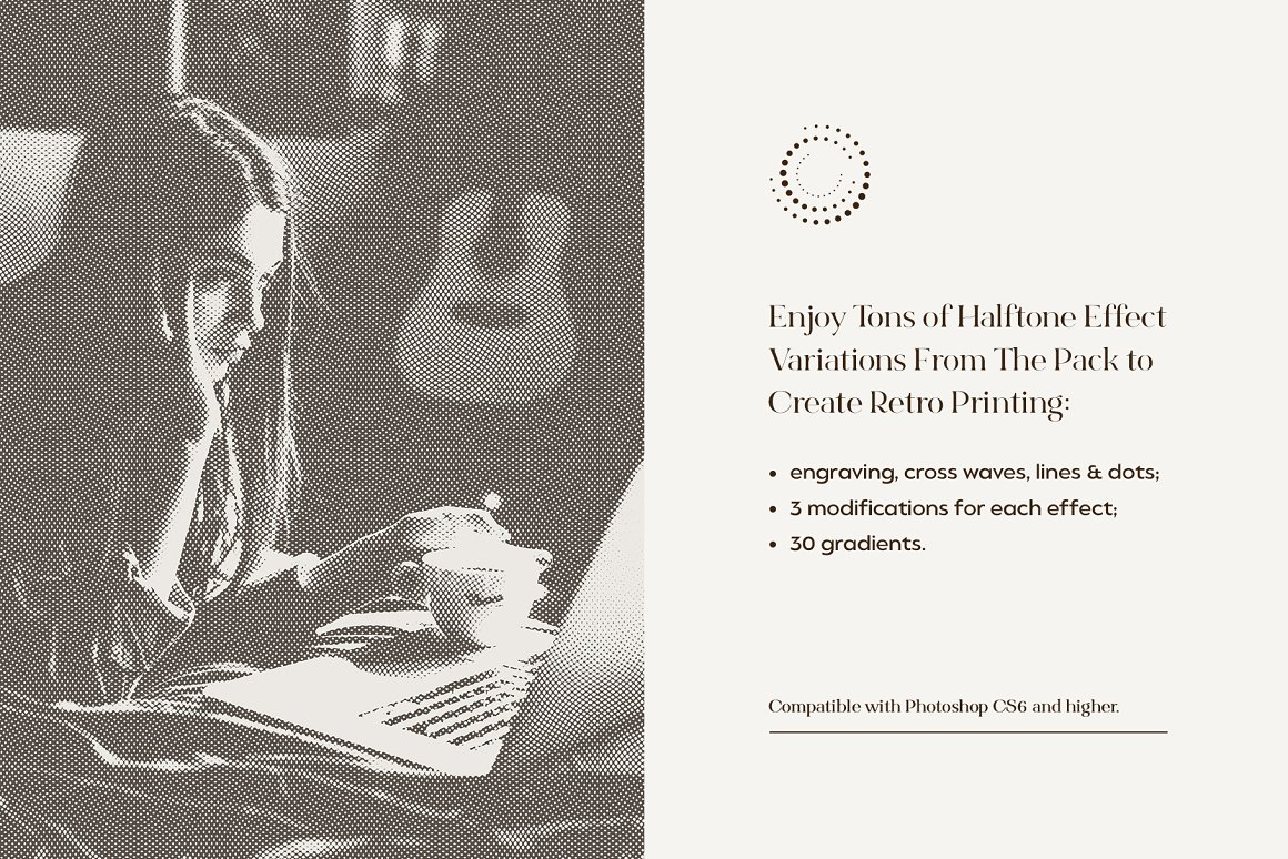 Engraving & Halftone Effect Creator