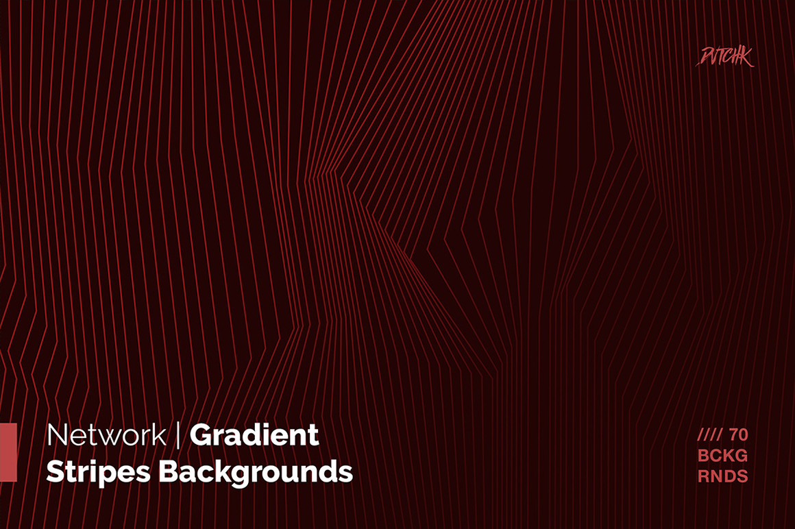 Network Gradient Stripes Backgrounds