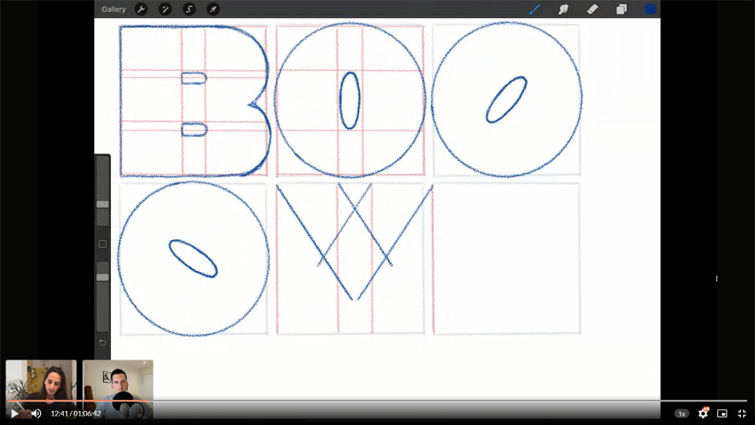 Lettering Tutorial With ShoutBAM