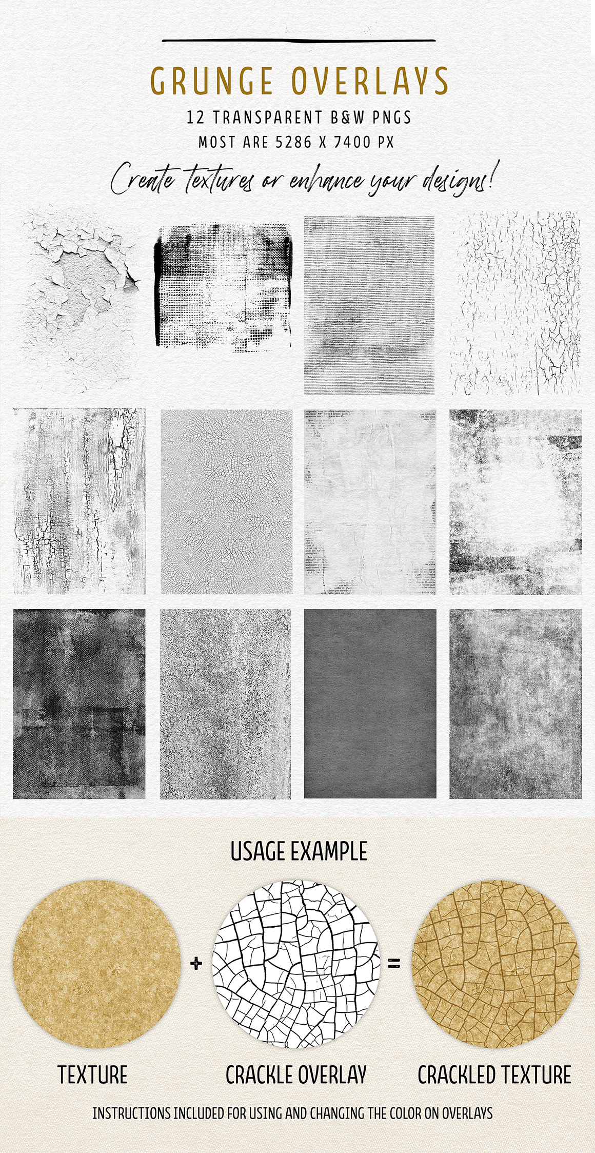Complete Inspirational Texture & Elements Collection