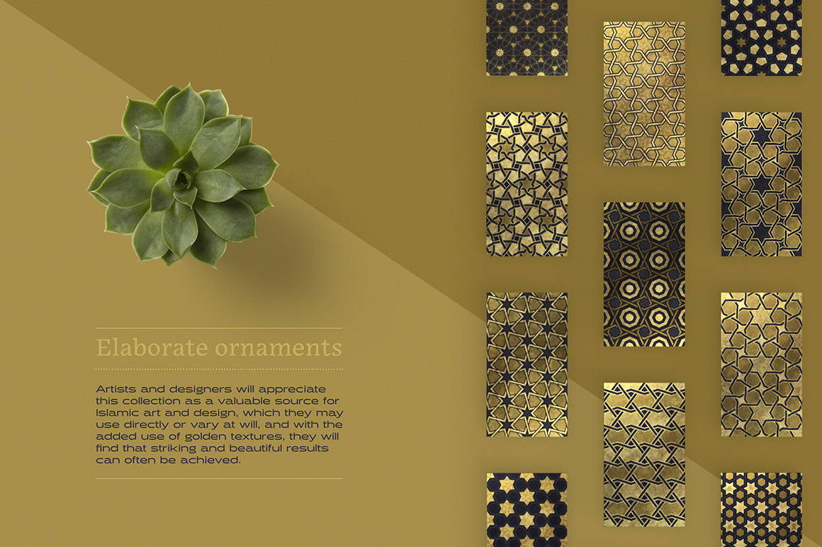Luxury Patterns – 250 Geometric Backgrounds