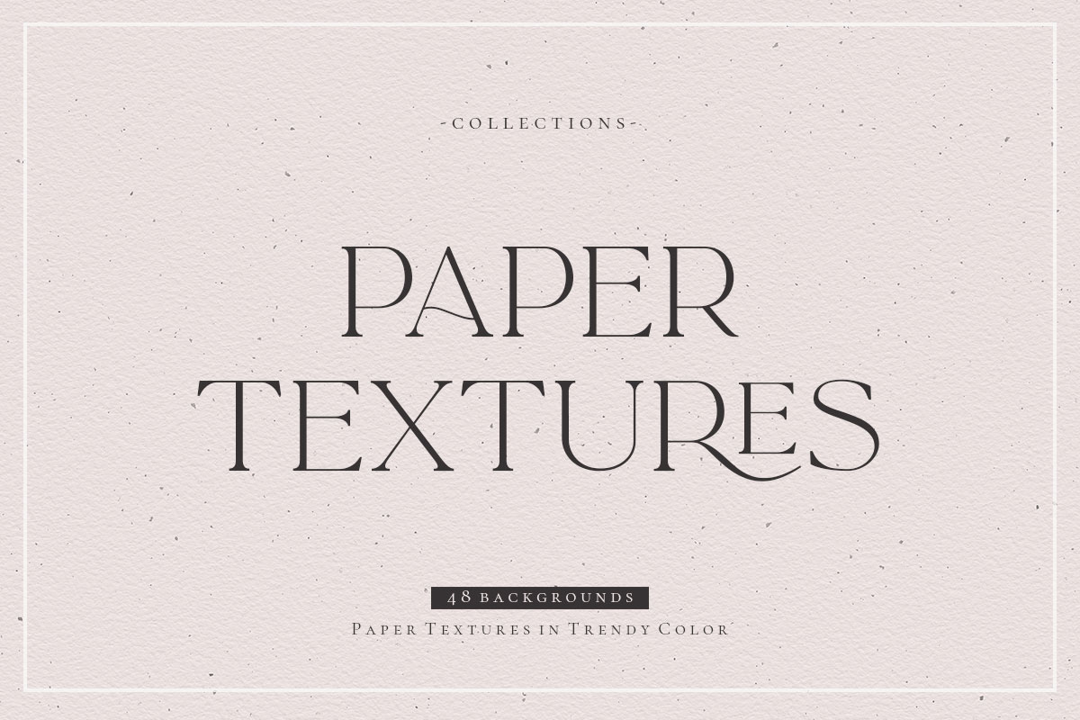 Paper Textures in Trendy Colors