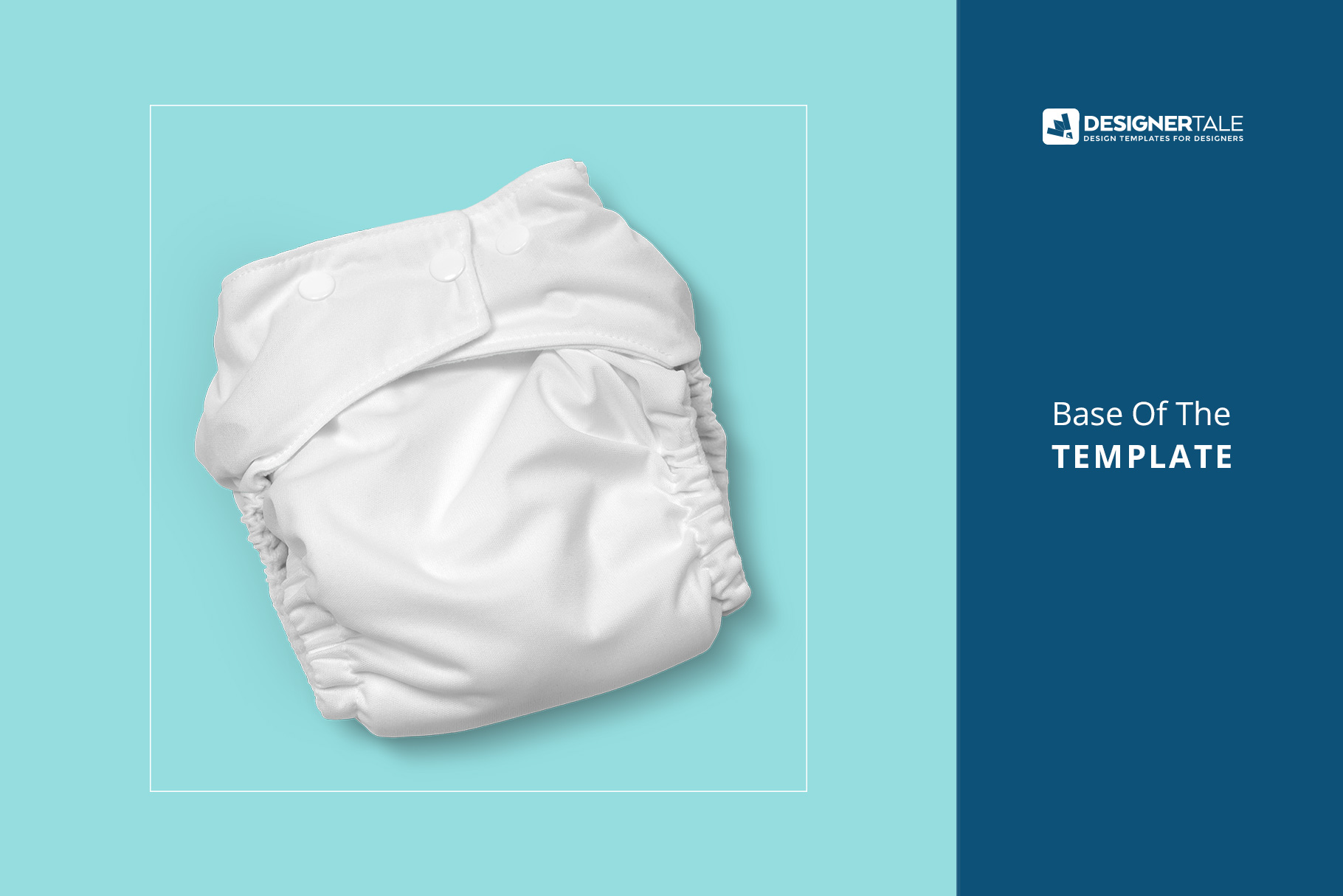Reusable Cloth Diaper Mockup
