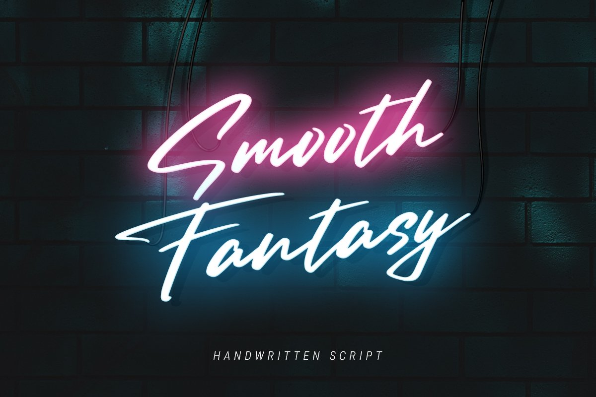 Smooth Fantasy Script