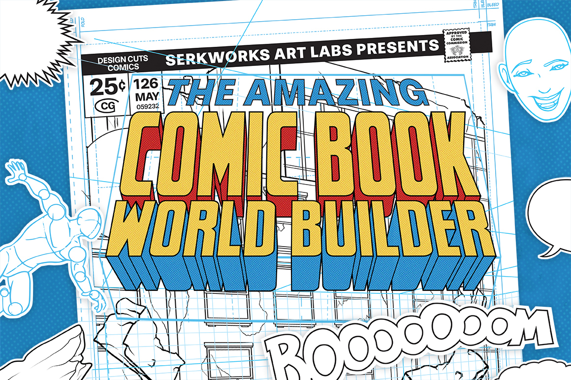 The Amazing Comic Book World Builder