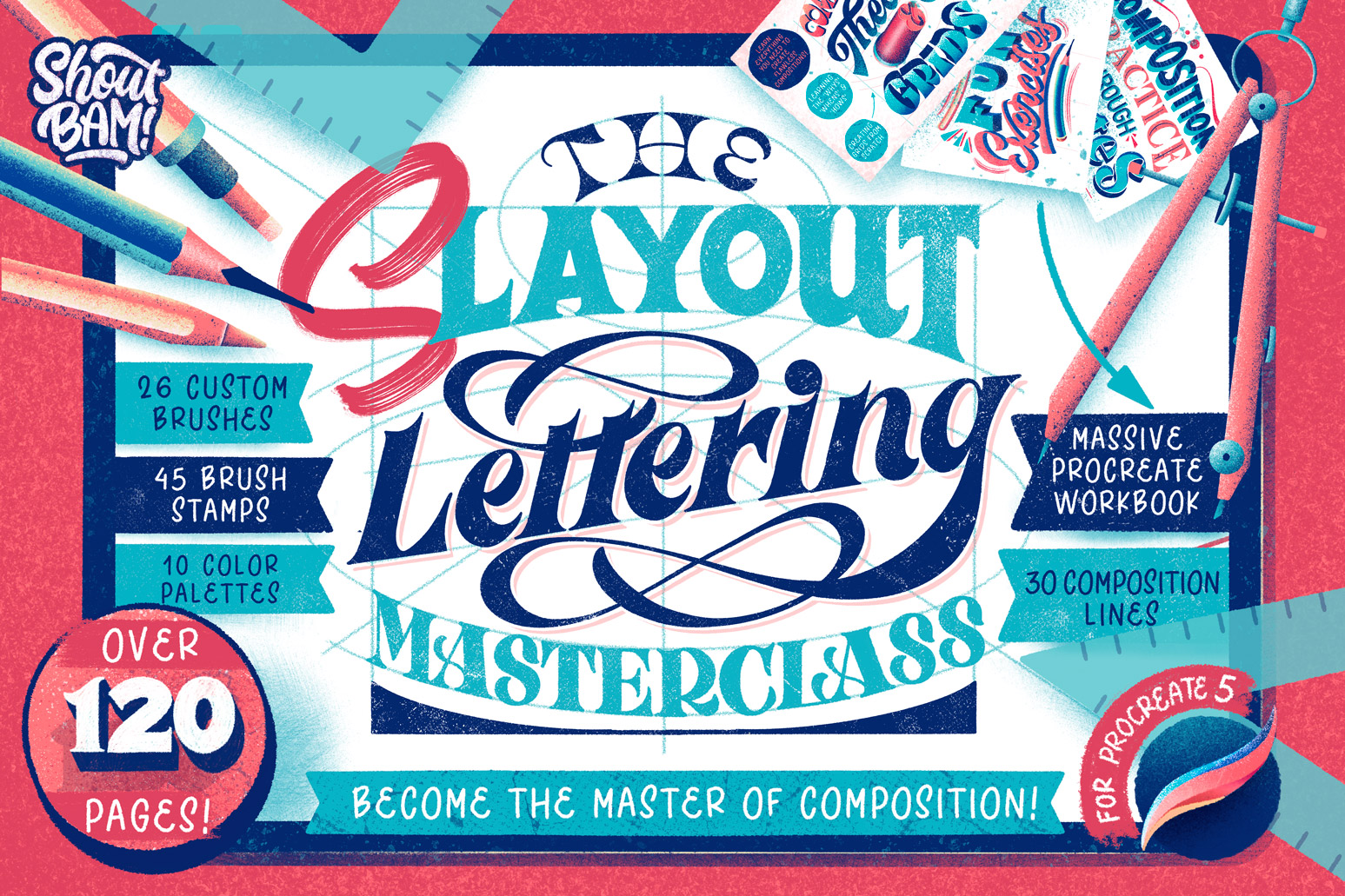 The Slayout Lettering Masterclass