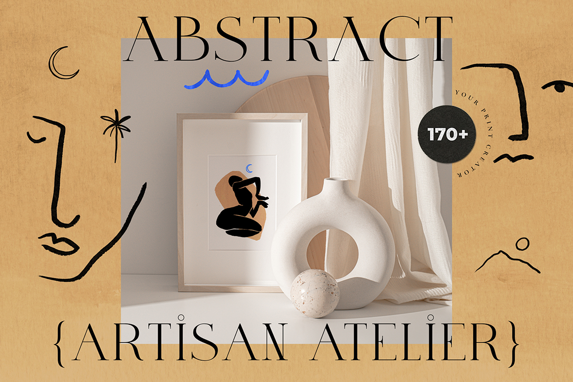 Abstract Atelier Art Print Creator