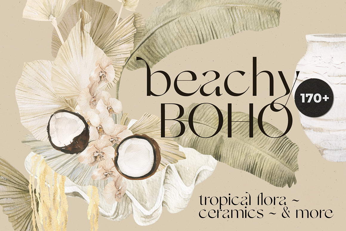 Beachy Boho: Tropical Floral Collection