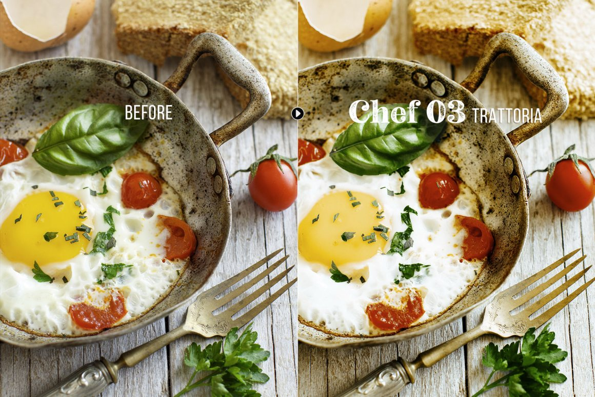 Chef - Food Presets for Desktop & Mobile