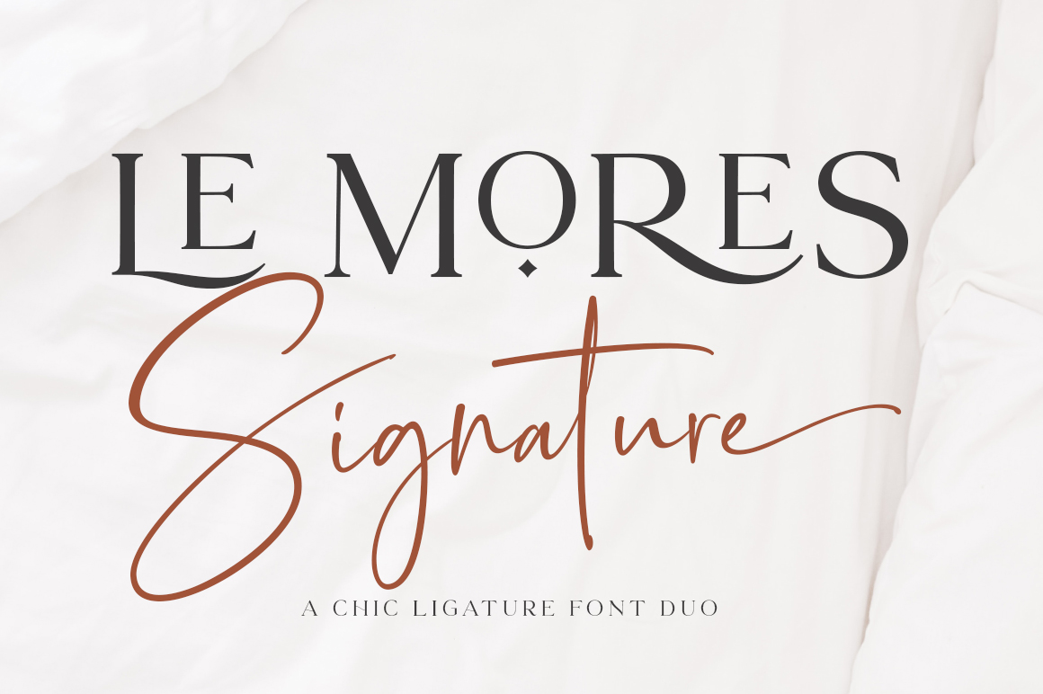 Le More Collection Font Duo