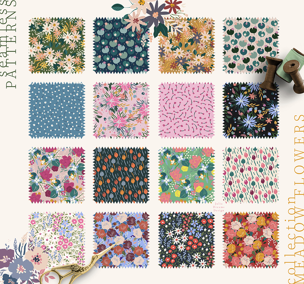 Meadow Flowers Collection