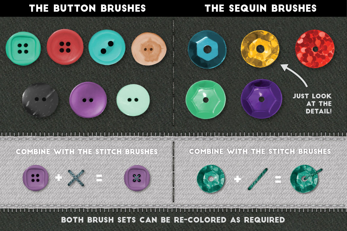 Stitch Craft - Brushes & Styles for Affinity
