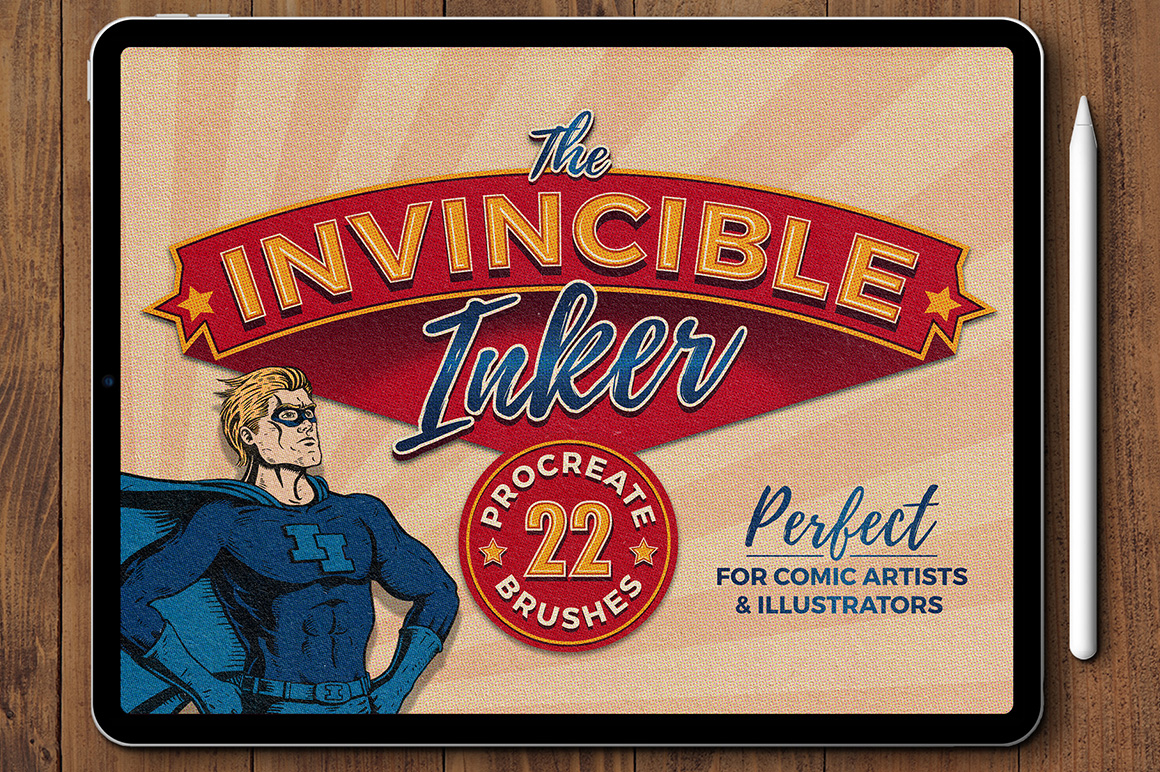 The Invincible Inker Procreate Brush Pack