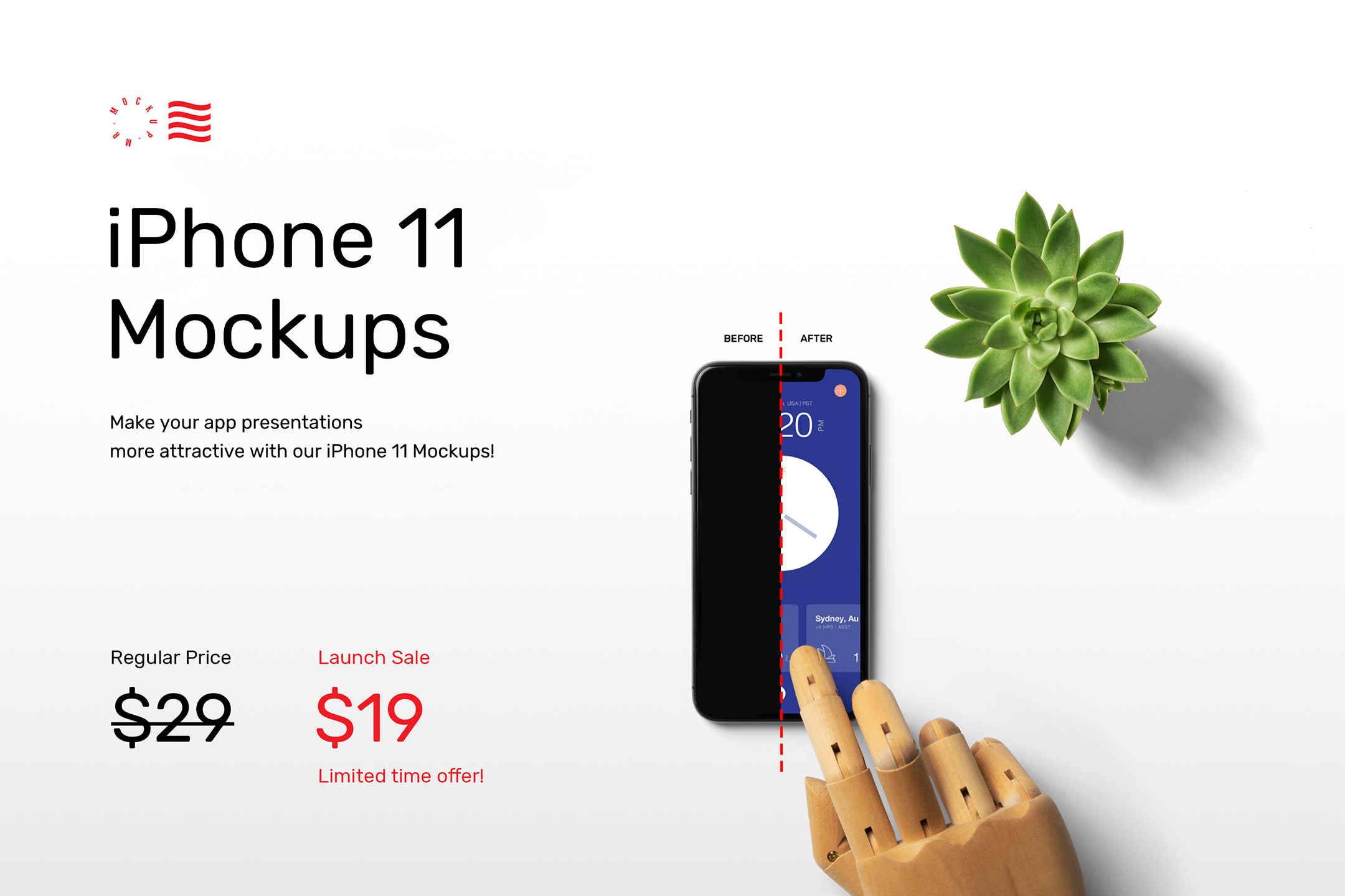 iPhone 11 Mockups Pack